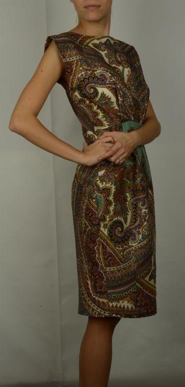 Платье из платка | Изделия из платков