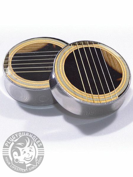 Acoustic Guitar Plugs. To replace the beatles - OMG JOshua would love these!