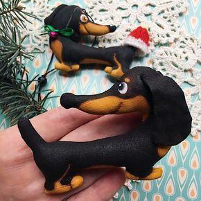 Собаки, символ года, символ 2018, елочные игрушки, Новый год, подарок на новый год