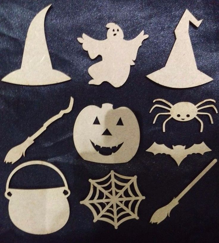 details about wooden halloween decorations ghost witches hat broom stick pumpkin spooky - Wooden Halloween Decorations