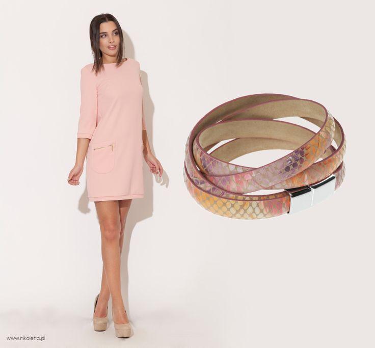 Delikatna bransoletka, która ożywi każdą stylizację. Kobieca i elegancka, z motywem piór. http://beltguys.pl/pl/p/W12-130_150/452  #bracelets #leather #women #luxury #exclusive