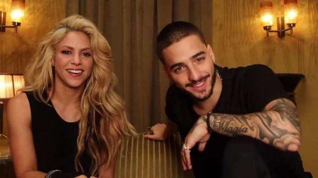 """Shakira y Maluma estrenan el video de """"Trap"""" /  Bogotá.- La cantante colombiana Shakira confirmó el lanzamiento del nuevo video de su canción Trap, uno de los sencillos de su más reciente álbum El Dorado que cuenta con la participación de su compatriotra Maluma. Los dos artistas han hecho una campaña de expectativas los últimos días subiendo fragmentos del video"""