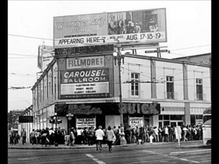 The Carousel Ballroom / Fillmore West 1968