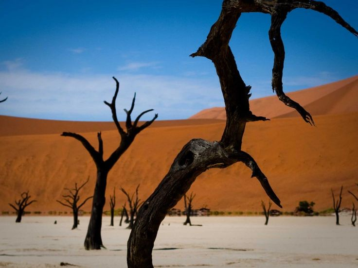 Namibia's beauty will draw tourists to Africa. Also Palawan, Hainan, China and Pittsburgh!