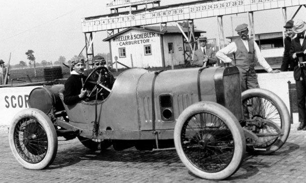 Jules Goux - 1913 Indianapolis 500 winner