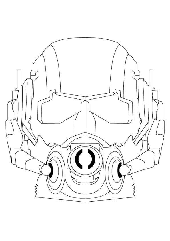 Ant Man Mask Coloring Page | Apartment Life Ideas | Pinterest | Ants ...