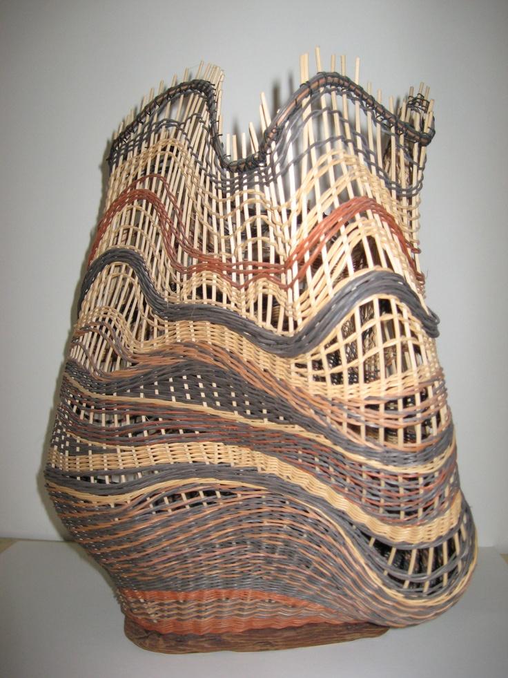 Woven Basket Art : Best basketry art images on wicker