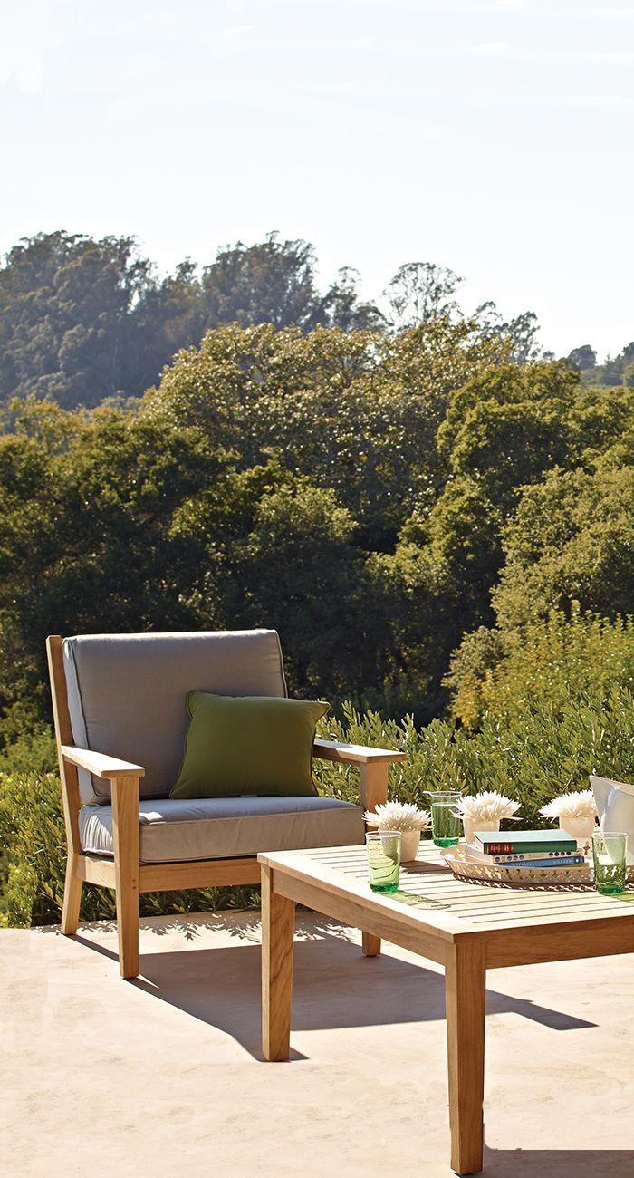 Gloster Vermont Lounge Chair - Deep seating furniture - Outdoor living - Christy Sports