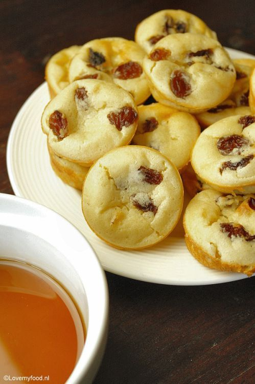 mini pannenkoek muffins