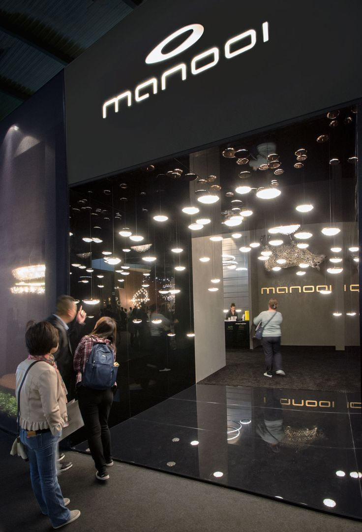 Euroluce 2017, Manooi's booth #Manooi #Chandelier #CrystalChandelier #Design #Lighting #StarGate #Origo #Euroluce #Euroluce2017 #exhibition