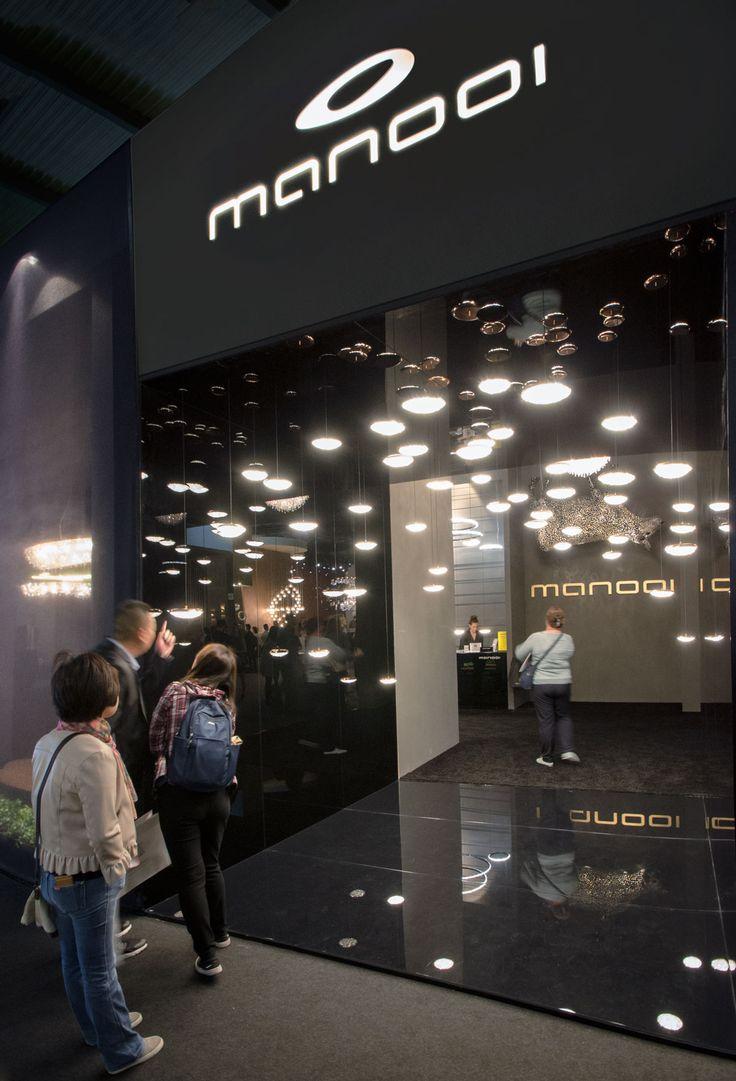 Euroluce 2017, Manooi's booth #Manooi #Chandelier #CrystalChandelier #Design #Lighting #StarGate #Origo #Euroluce #Euroluce2017 #exhibition
