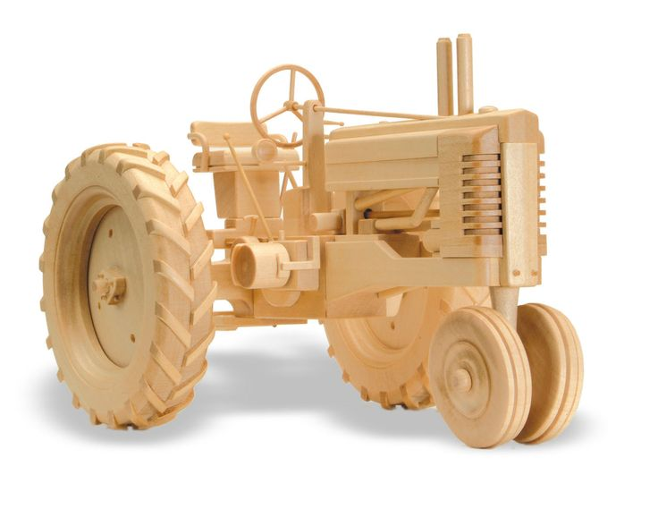 Wooden Trucks Toys And Joys : Patterns kits miscellaneous the tractor quot b