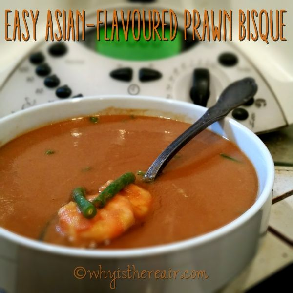 Easy Asian-flavoured Prawn Bisque « Why is There Air?