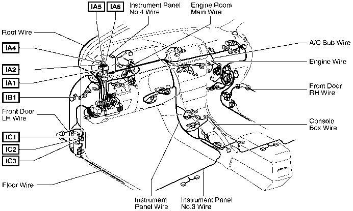 2004 Corolla Fuel Pump Relay Diagram