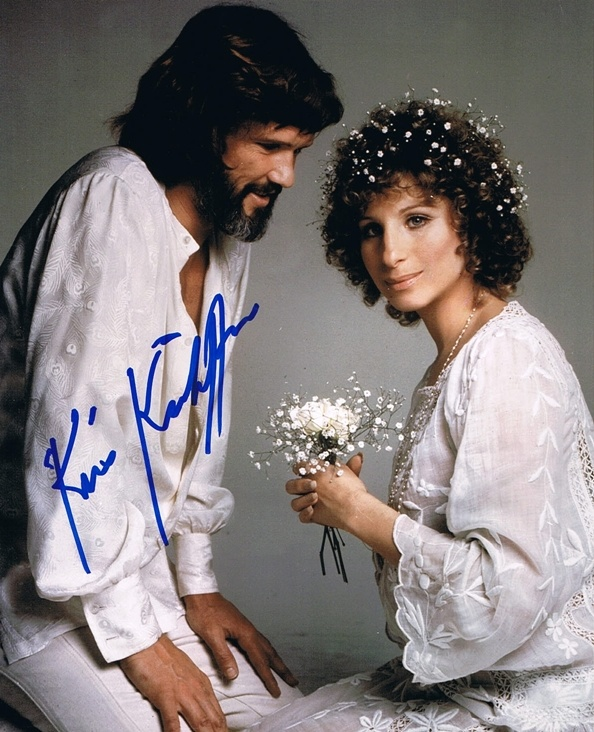 Image detail for -KRIS KRISTOFFERSON - A Star is Born AUTOGRAPH Signed 8x10 Photo