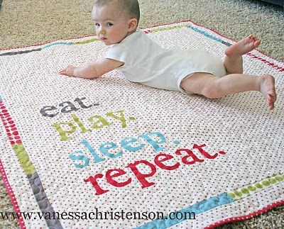 My Very Favorite Baby Quilt
