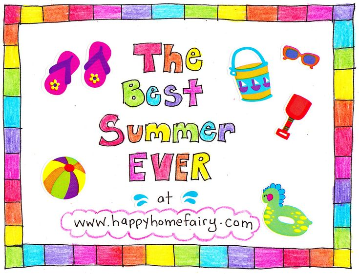 Best Summer EVER at Happy Home Fairy- this blog is filled with tons of inexpensive ideas for kids to do over the summer!