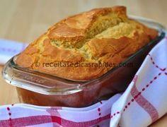 Delicioso (e fofinho) pão sem glúten e sem lactose de liquidificador - Receitas…