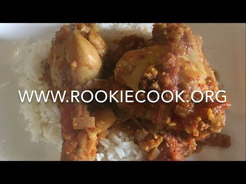 Indian Chicken Vindail - Rookie Cook
