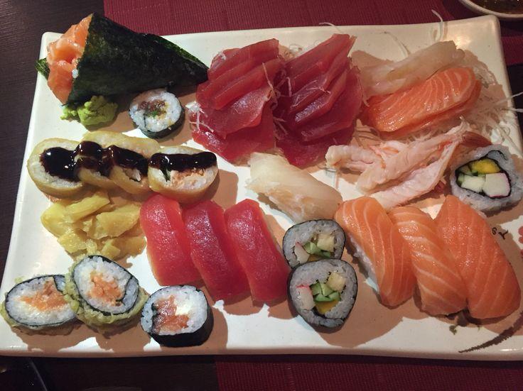 Rodízio de sushi e sashimi do Nippon 🇯🇵🐟👍🏽8️⃣