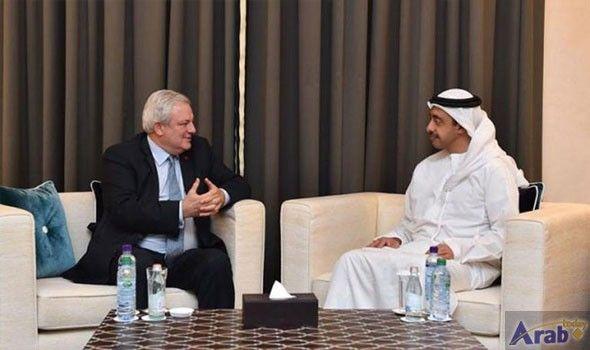 Sheikh Abdullah bin Zayed meets UN Official