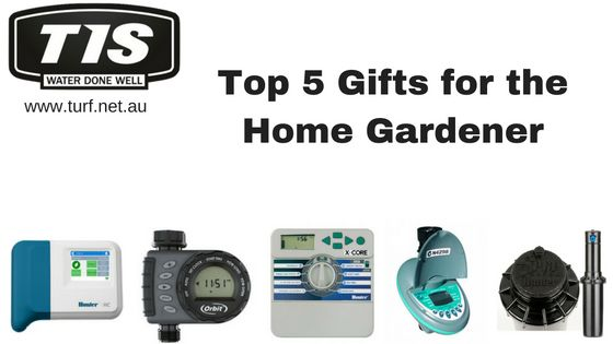 Check out the top 5 gifts for the home gardener from Turf Irrigation Services for the person who loves to garden and takes pride in their lawn. www.turf.net.au
