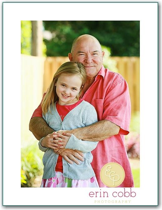 JoJo and Papa   huntsville family and grandparent portraits » Erin Cobb Photography