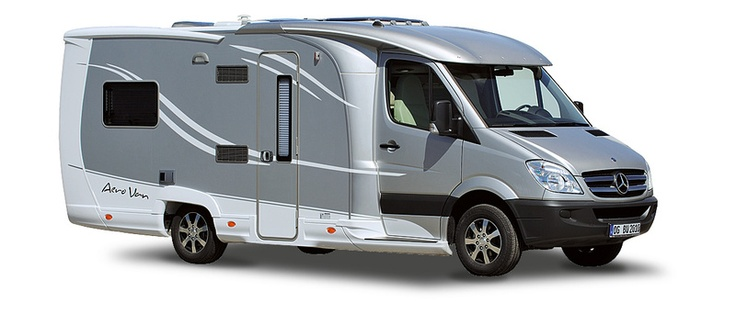The Burstner Aero Van, a Mercedes Sprinter RV based on a Sprinter 313 CDI cutaway chassis. Born of a wind tunnel...