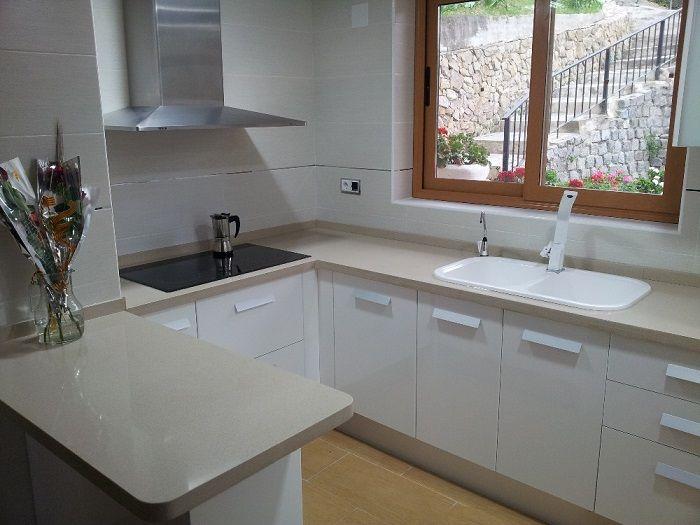 Encimeras cocina precios affordable encimeras inicio - Encimera marmol precio ...