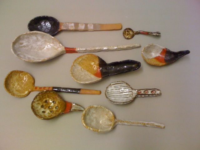 love these spoons by shino takeda