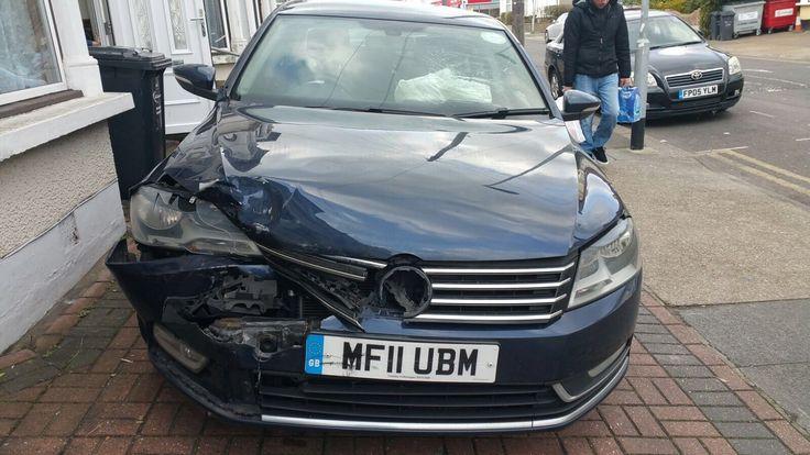 eBay: VW Passat TDI 2011 front damage #carparts #carrepair