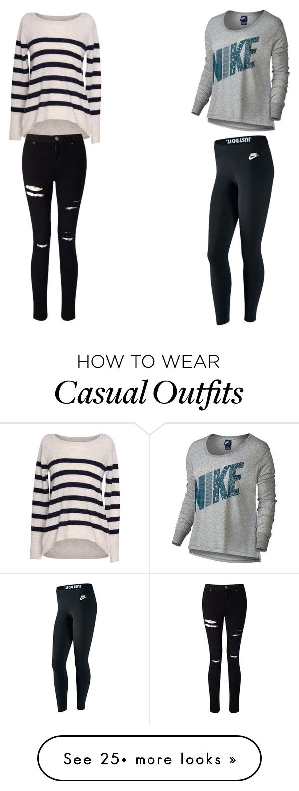 """Casual and lazy :)"" by newt1504 on Polyvore featuring Velvet by Graham & Spencer, NIKE and Miss Selfridge"