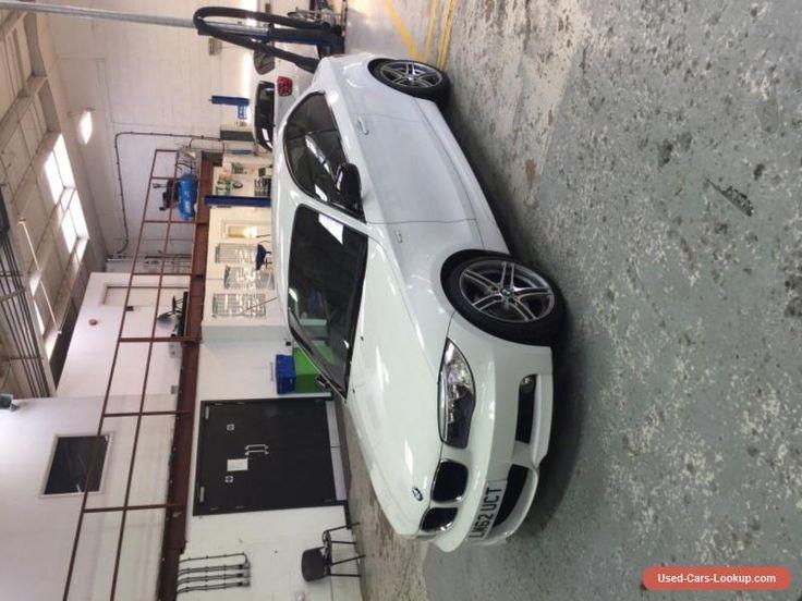 E82 bmw 125i sport plus edition alpine white #bmw #125 #forsale #unitedkingdom