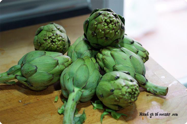 Cómo cocer alcachofas para que nos queden tiernas y jugosas. Alcachofas cocidas.