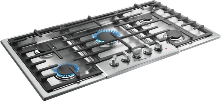 "Bosch NGM8655UC 36"" 800 Series Gas Sealed Burner Style Cooktop Stainless Steel"
