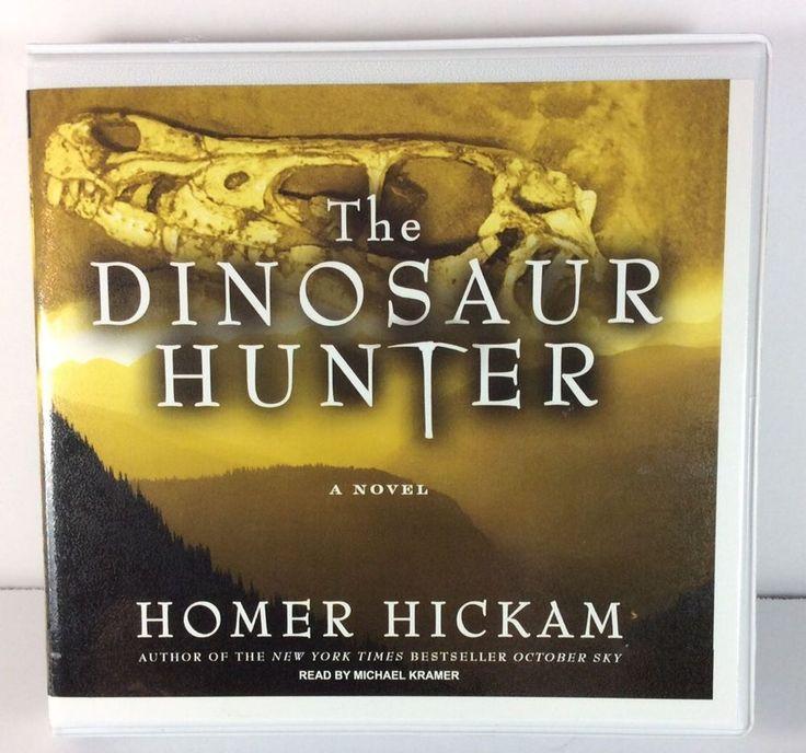Dinosaur Hunter Homer Hickam Audio Book CD 2010 Fiction  | eBay