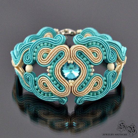 Soutache BraceletSoutache Jewelry by SBjewelrySoutache on Etsy