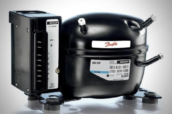 Pros And Cons Of The Danfoss Compressor Refrigerator In 2020 Truck Camper Built Truck Compressor
