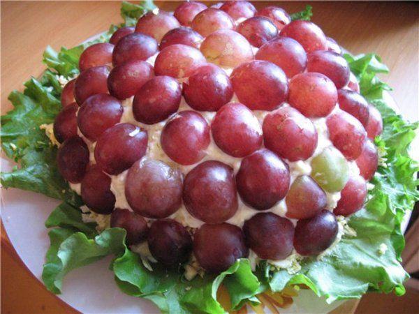 Рецепты недорогого салата с сухариками