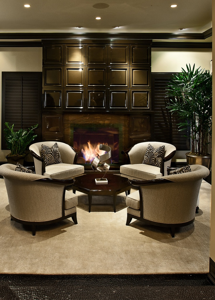 Hotel Lobby Furniture With Various Designs : Contemporary Hotel Room Design  With Hotel Lobby Furniture Like Antique White Elegant Armchairs Also Brown  ...