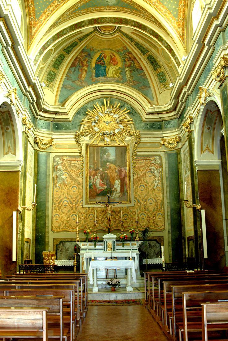 S Girolamo, interno della Chiesa #marcafermana #ortezzano #fermo #marche