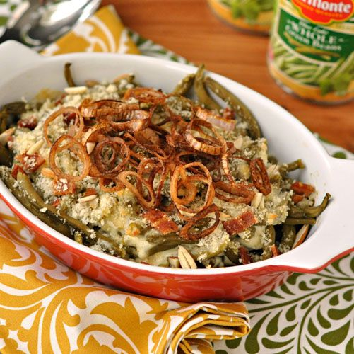 how to add more flavor to green bean casserole