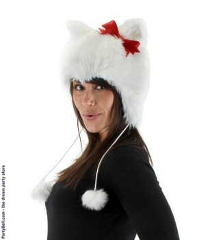 Christmas Kitty Hat