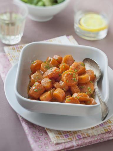 Carottes vichy - Recette de cuisine Marmiton : une recette