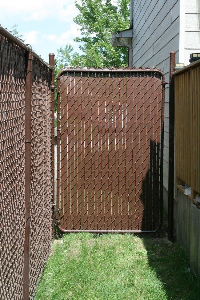 chain link fence slats brown. Brown Chain Link Privacy Slats| Fence-All Fence Slats N