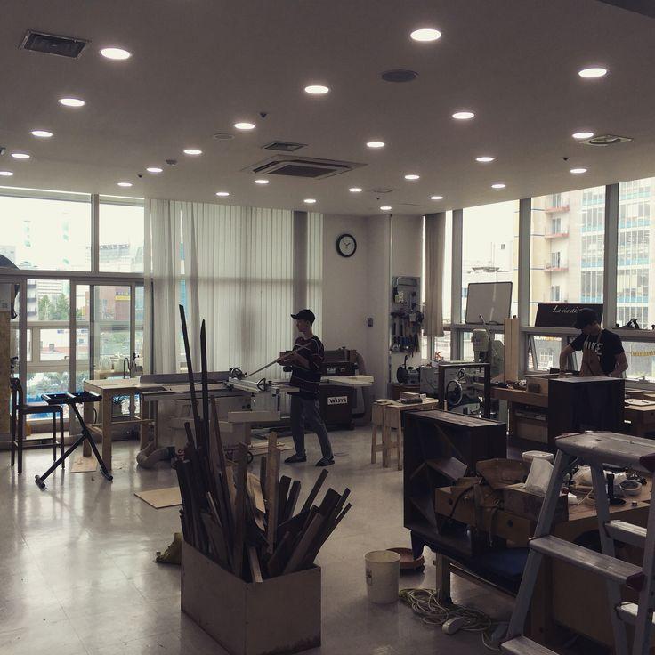 라뷔에쎄 사무실, 가구연구소, 우드워커, wood worker, wood, office, design laboratory