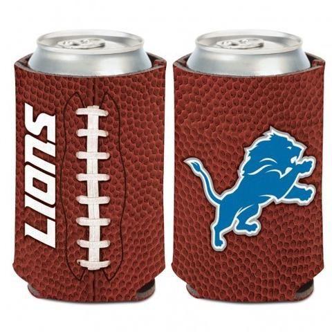 NFL Detroit Lions Football 12 oz Can Cooler