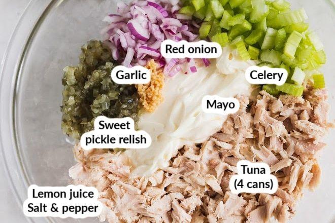 Tuna Salad Recipe Without Relish