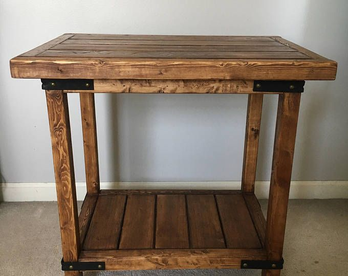 Handcrafted- Rustic Nightstand, End Table, Side Table