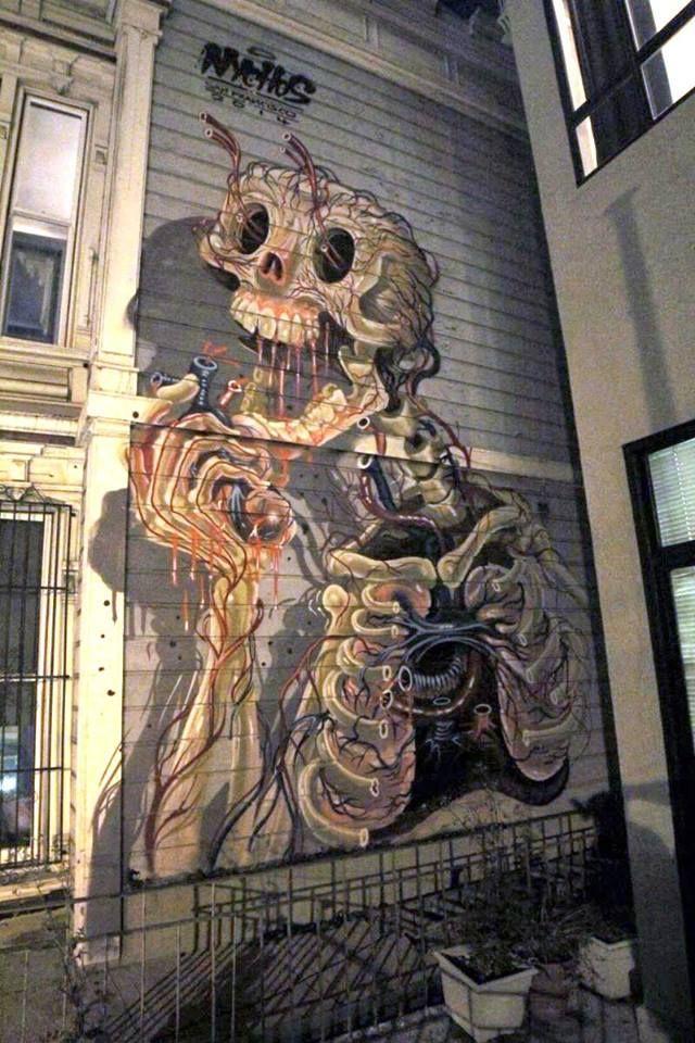 """Artist: NYCHOS """" San Francisco, CA """""""